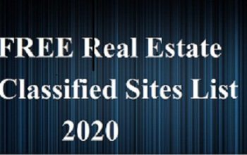 FREE Real Estate Classified Sites List