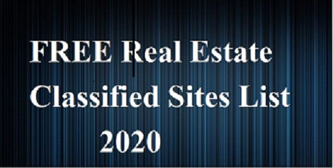 High DA and PA FREE Real Estate Classified Sites List 2021