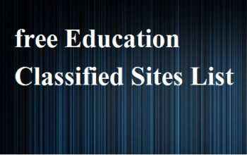 free Education Classified Sites List