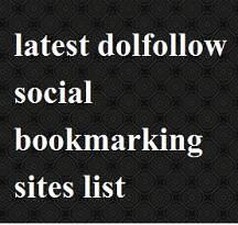 dofollow social bookmarking sites list